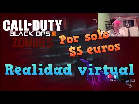 Jugando Call of Duty Zombies en Realidad virtual! La mejor experiencia?