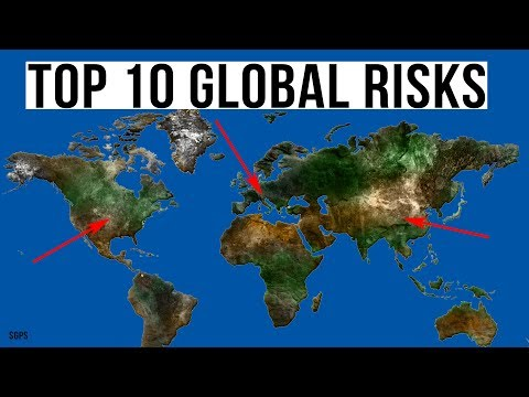 The Top 10 Global Risks! Stock Market Crash Is the #1 Potential Danger For 2018!