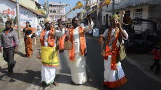 Dasayyas at the Sri Chaluvanarayana swamy Rathasapthmi Folk fair, Melukote