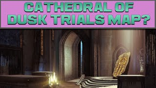 DESTINY - NEW CRUCIBLE MAP REVIEW (CATHEDRAL OF DUSK)