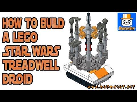 LEGO STAR WARS TREADWELL DROID INSTRUCTIONS - YouTube
