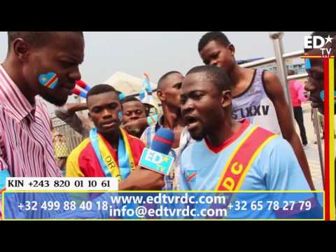 EN DIRECT DE KINSHASA: RÉACTIONS AVANT MATCH RDC-RCA
