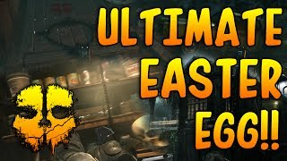 Cod Ghosts! 'SECRET ULTIMATE FOG MAP EASTER EGGS' Inifinty Ward Inspired By The Evil Dead Movie!