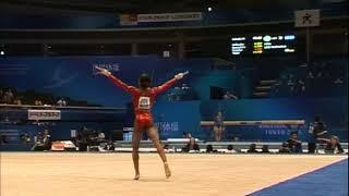 Gabrielle Douglas USA Floor Team Qualifcation 2011 Tokyo World Championships