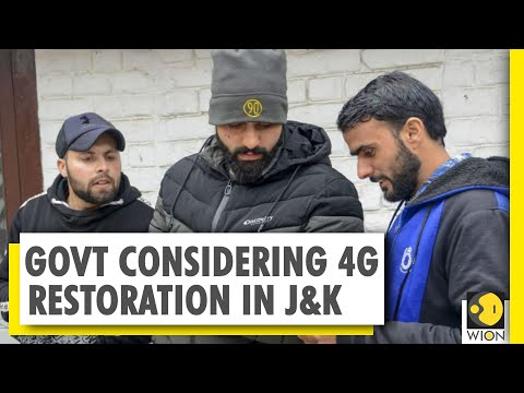 Centre mulling 4G restoration in Jammu and Kashmir for two months | India News
