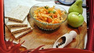 Витаминный салат из топинамбура.