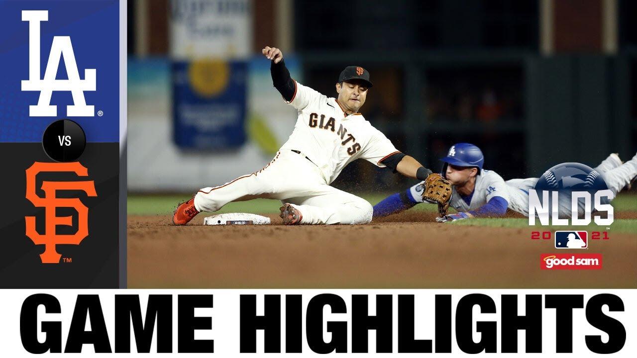 Download Dodgers vs. Giants NLDS Game 5 Highlights (10/14/21) | MLB Highlights