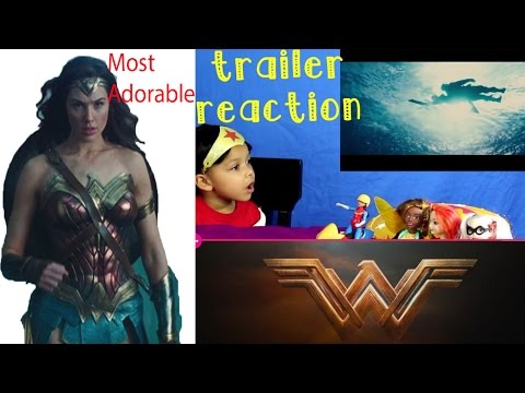 Wonder Woman Official Trailer 2 Most Adorable reaction