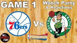 76ers Vs Celtics Game 1   Live Watch Party & Reactions
