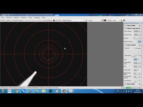 Метод дрейфа с помощью SharpCap/SharpCap Drift Method