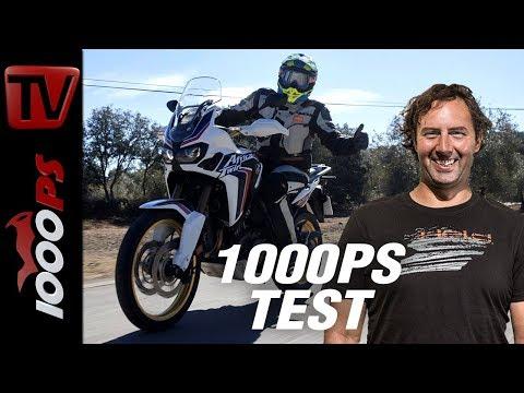 1000PS Test - Honda Africa Twin und X-ADV mit noch mehr Performance