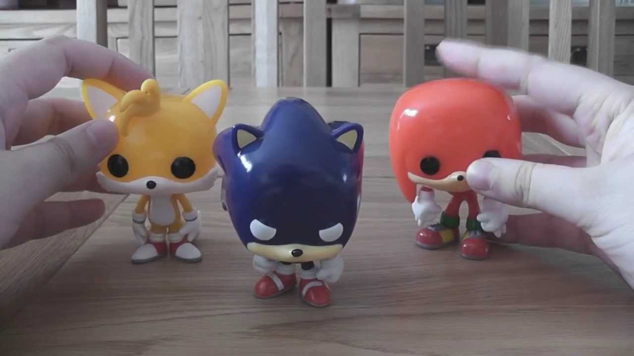 Sonic the Hedgehog Funko Pop Figures Unboxing & Review ...