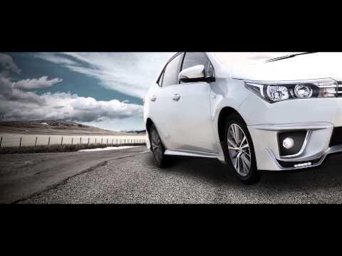 ชุดแต่ง Toyota Altis 2014 bodykits API Accessory