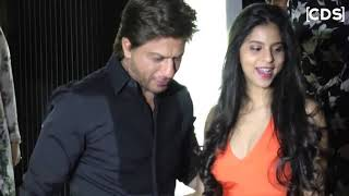 35 Shah Rukh Khan's Daughter Suhana Khan Spotted Orange Dress At Mother Resturent Launch   YouTube
