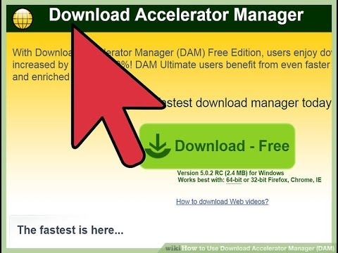 Download Accelerator Manager DAM Download