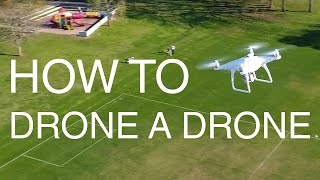 KEN HERON - How to Drone another Drone [4K]