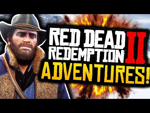"""Red Dead Redemption 2: Funny Moments! - #1 - """"EXPLORING THE LAND!"""" - (RDR2 Adventures)"""