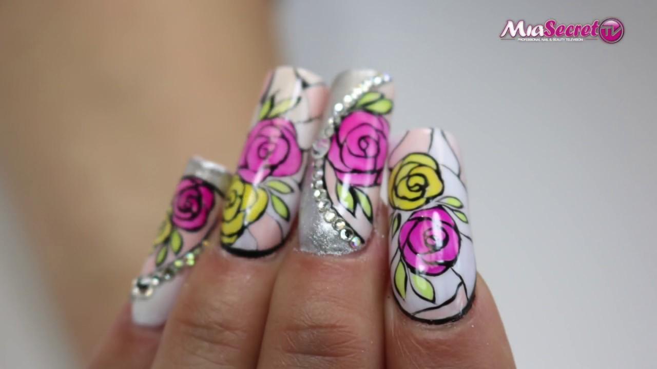 Lujoso Uñas Secreto Mia Ideas - Ideas de Diseño de Arte de Uñas ...