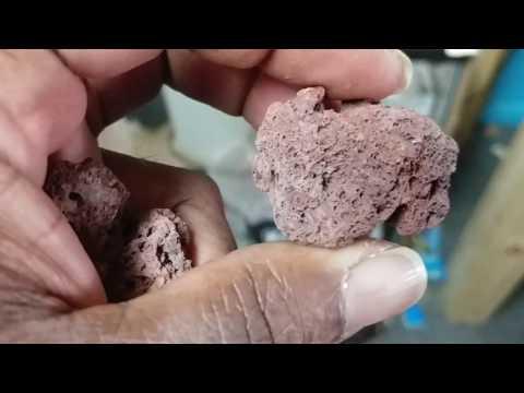 Red Lava Rock Filter Media