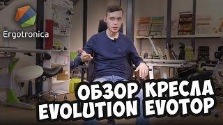 Обзор офисного кресла Evolution EvoTop