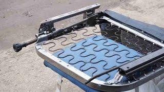 видео Регулировка положения передних сидений - Сиденья - Автомобили LADA (ВАЗ)  - Руководство по ремонту и обслуживанию