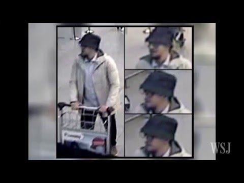 Brussels Bombings: Belgian Police Release Video of Suspects