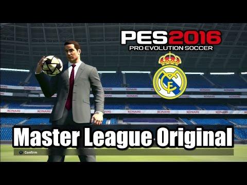 PES 2016 Master League Original Lineup
