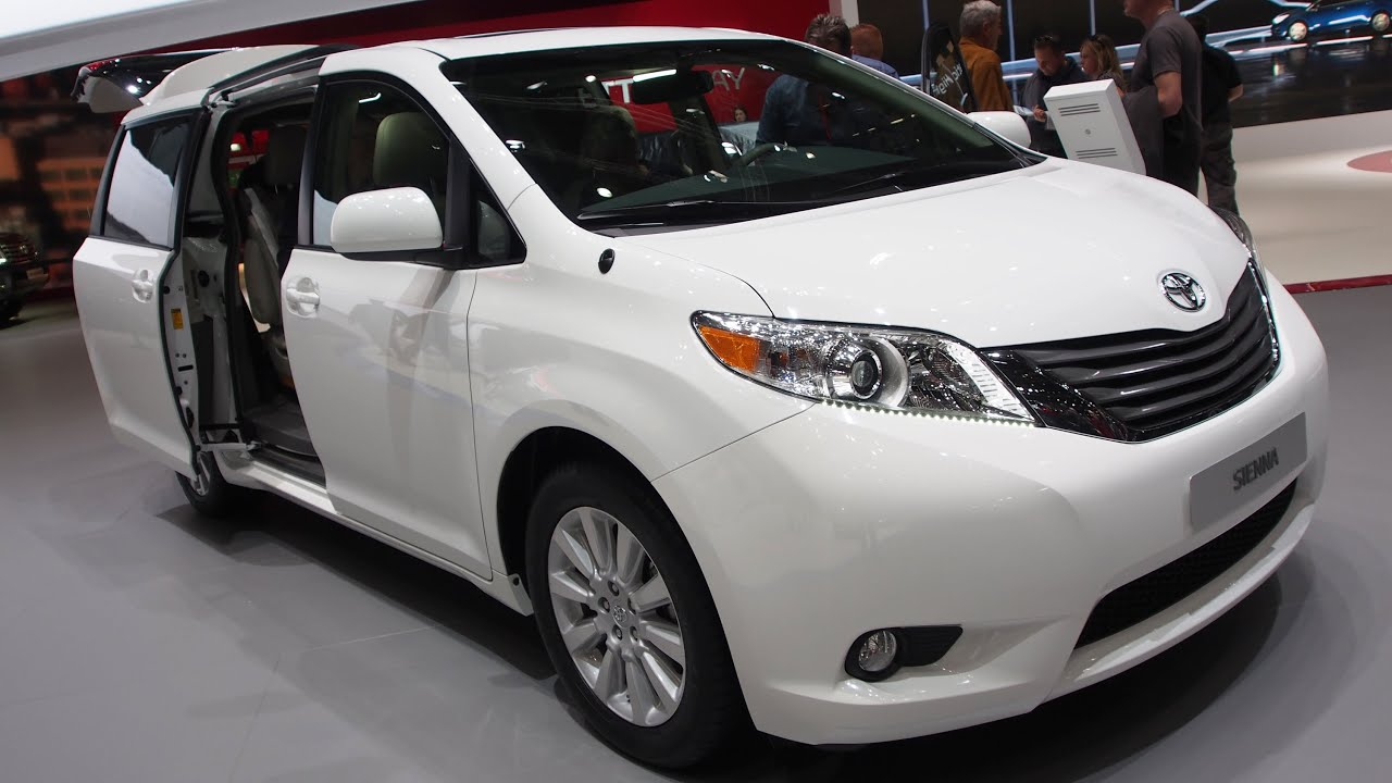 2015 Toyota Sienna 3.5 V6 AWD   Exterior And Interior Walkaround