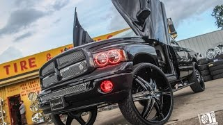 "Triple D Boyz | Dodge Ram on 32"" Diablo Elites 