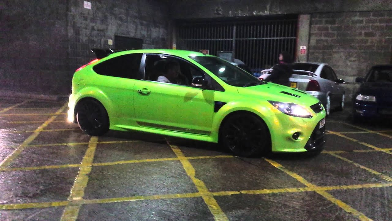 Mk2 Rs Focus >> Ford Focus RS GREEN - Looking very nice - YouTube