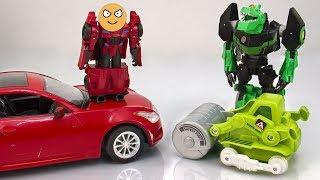 Мультик - Робот Сайдсвайп и машинки для Трансформеров.