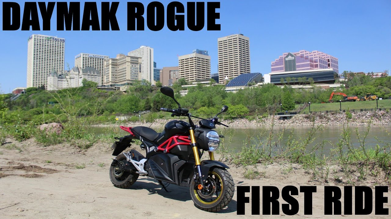 DAYMAK ROGUE EBIKE TEST RUN SUMMER 2019 CANADA
