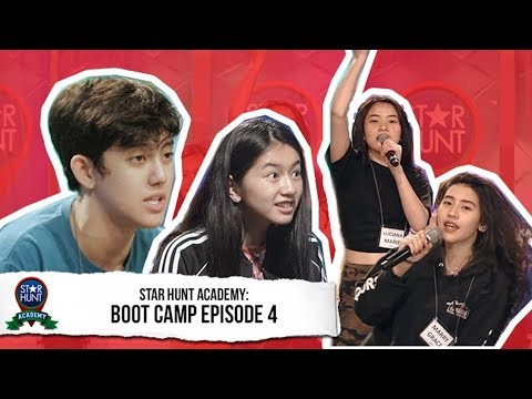 Star Hunt Academy Trainees sumailalim na sa intense training  Star Hunt Academy Bootcamp Episode 4