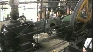 Inside a Cuban steam powered sugar mill