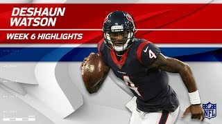Deshaun Watson Leads Houston to Victory w/ 3 TDs!   Browns vs. Texans   Wk 6 Player Highlights