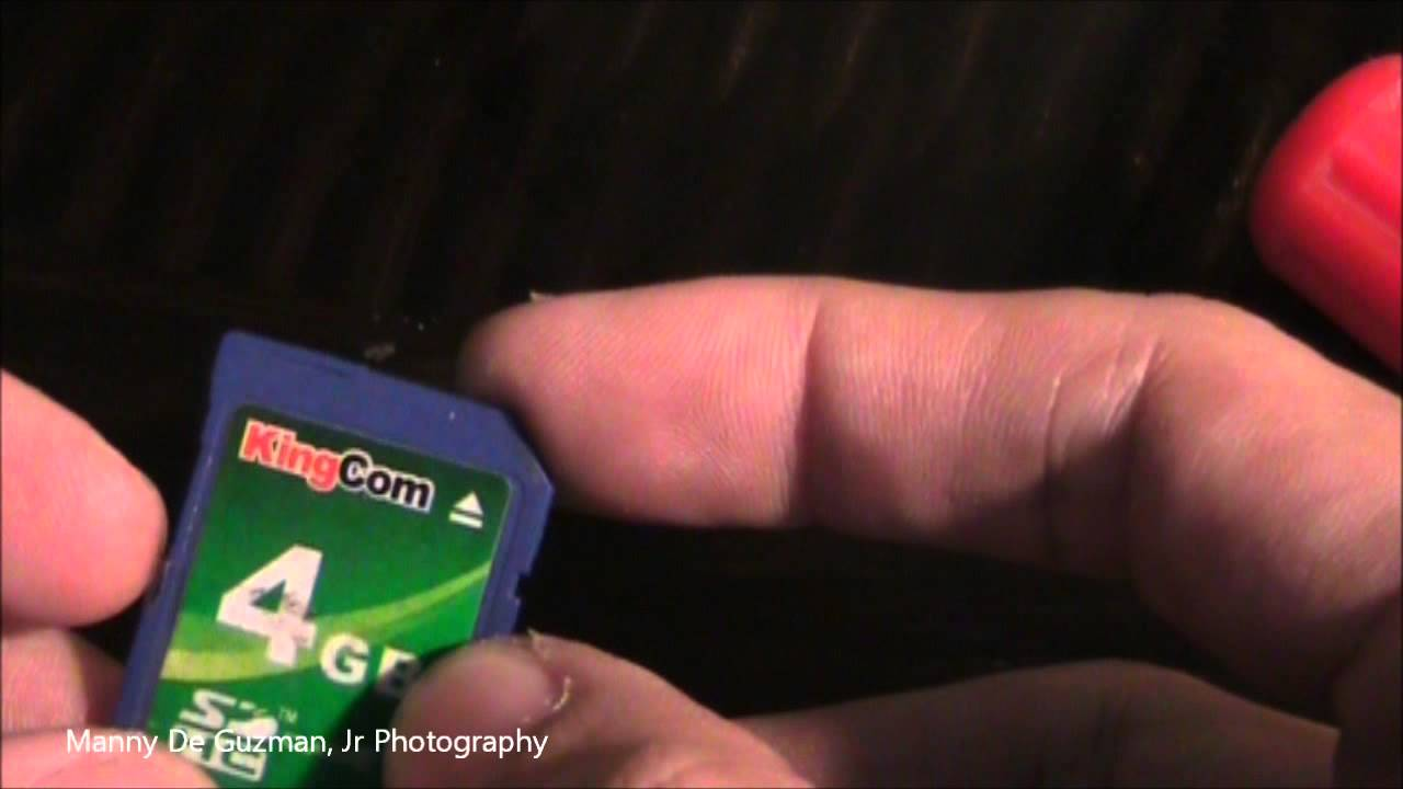 SD Memory Card Hack - Micro SD inside standard SD Card
