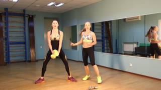 Тренировка на все группы мышц - фитнес дома с каналом Fitberry | LEVEL UP 12