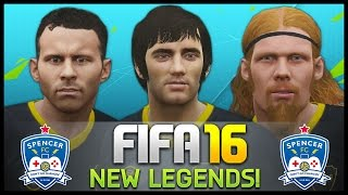 I PLAY WITH THE NEW LEGENDS! - Fifa 16 Ultimate Team