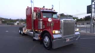 1997 Peterbilt 379 Optimus Prime Transformer Semi Truck Hauler Kenworth W900 Detroit Diesel For Sale