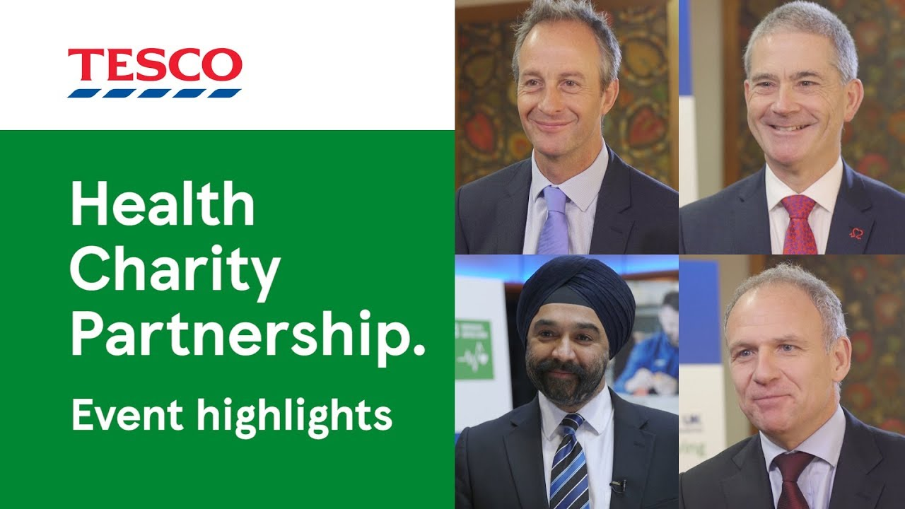 Health Charity Partnership event highlights | Tesco