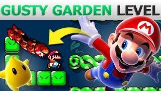 Someone Sent this AMAZING Gusty Garden Level! | Super Mario Maker 2
