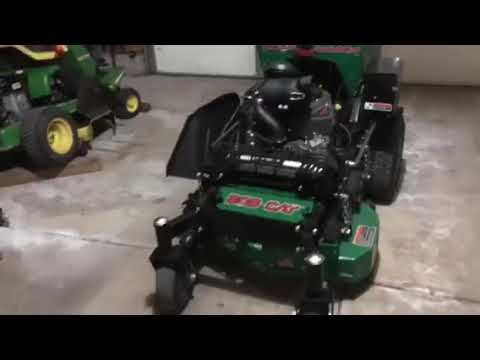 Review on bobcat Quick Cat 36 stand on mower