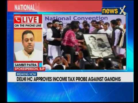 Sonia, Rahul Gandhi to be investigated by tax officials in National Herald case