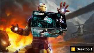 ironman 3d desktop interface 2011 mp4