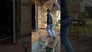 Дом рубленное бревно г. Барнаул ручная рубка