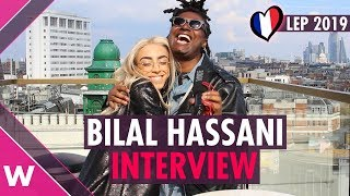 """Bilal Hassani """"Roi"""" (France 2019) INTERVIEW @ London Eurovision Party 2019"""
