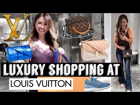 LUXURY SHOPPING VLOG AT LOUIS VUITTON 🛍 - SEE ALL THE NEW ITEMS!