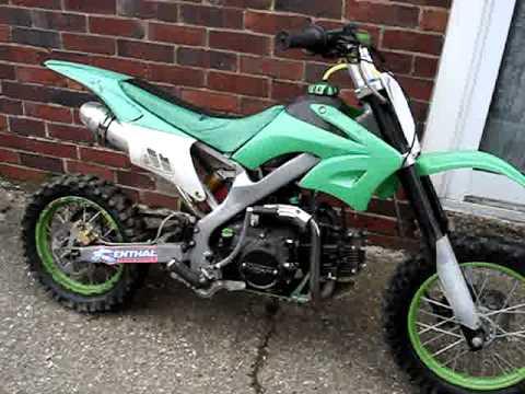 125cc pit bike for sale ebay youtube publicscrutiny Choice Image