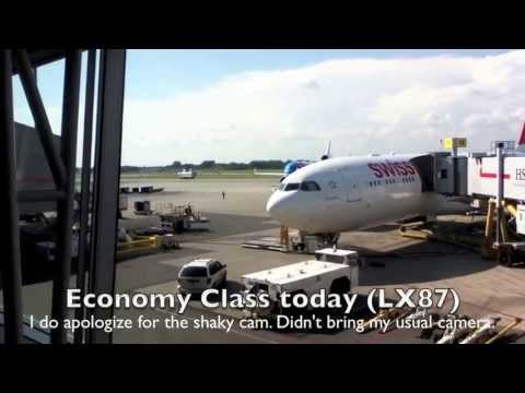 SWISS Economy Class: Montreal to Zurich A330-300 (HB-JHH)