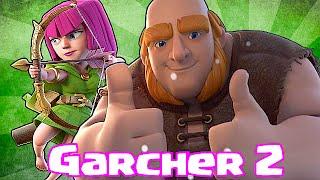 """Clash Of Clans """"GARCHER 2"""" (Giants & Archers)"""
